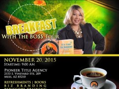 Breakfast with the Boss Tour