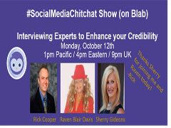 #SocialMediaChitchat Tips to Interview Experts for Credibility w/ @TalkShowMaven